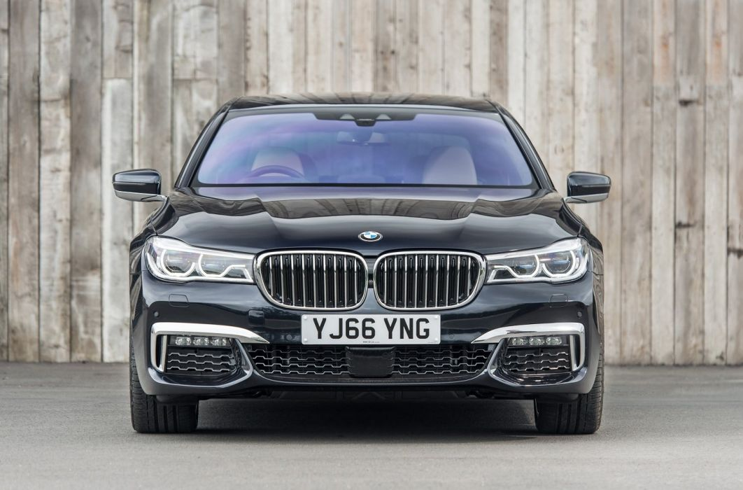 BMW 740Le xDrive M-Sport UK-spec (G12) cars sedan2016 wallpaper