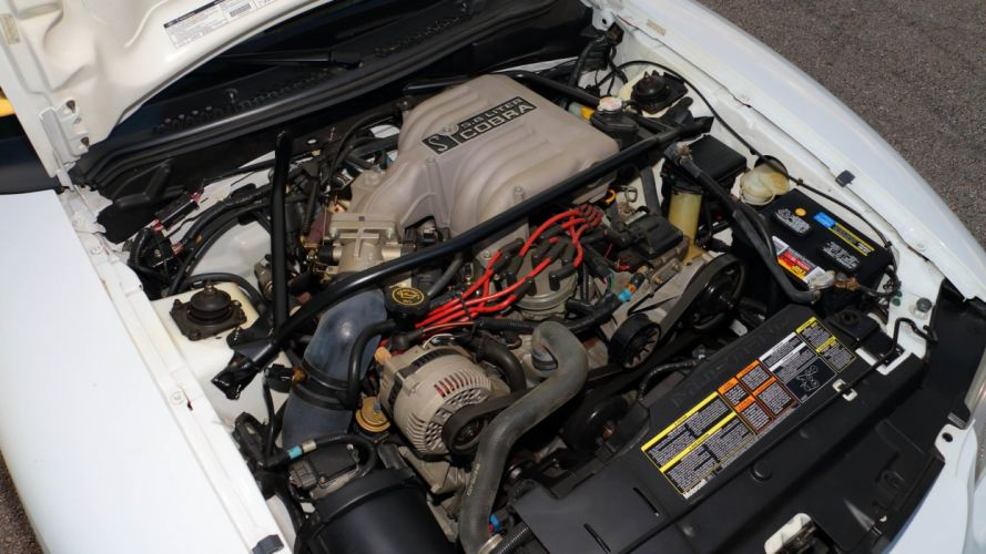 1995 Ford Mustang SVT Cobra-R cars white wallpaper