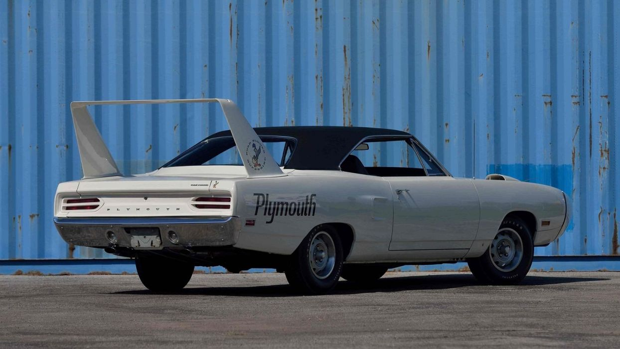 1970 PLYMOUTH SUPERBIRD white cars wallpaper