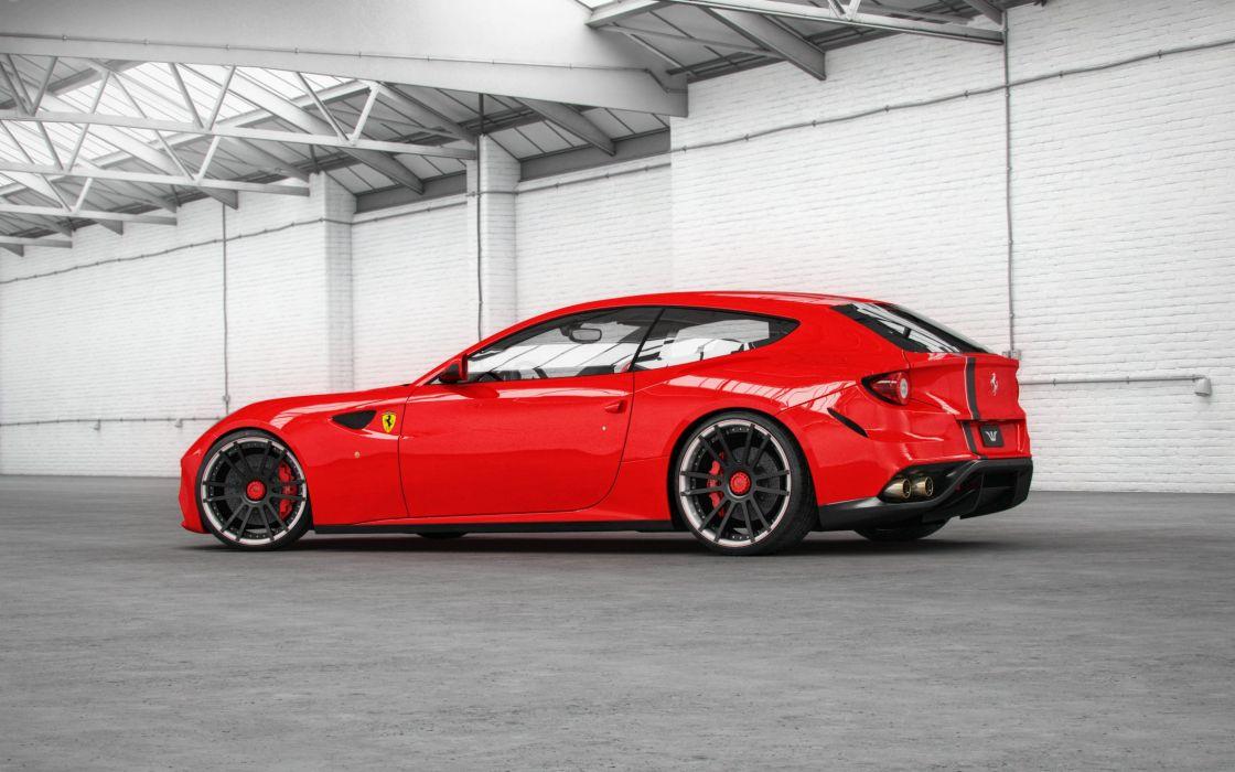 Wheelsandmore Ferrari Ff Cars Red Modified Wallpaper 2200x1375 1025886 Wallpaperup