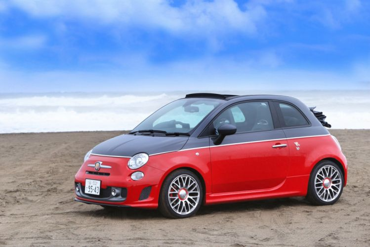 Abarth 595C fiat Turismo JP-spec (312) cars 2013 wallpaper