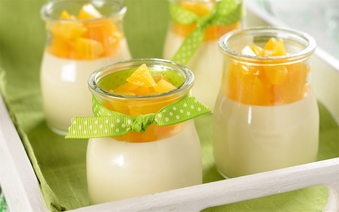 delicious pudding food wallpaper