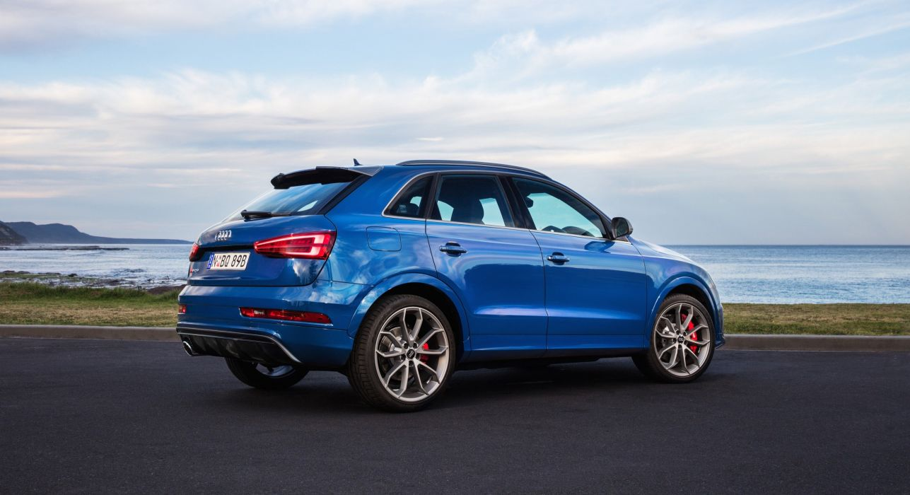 Audi RS-Q3 performance AU-spec cars suv blue (8U) 2016 wallpaper
