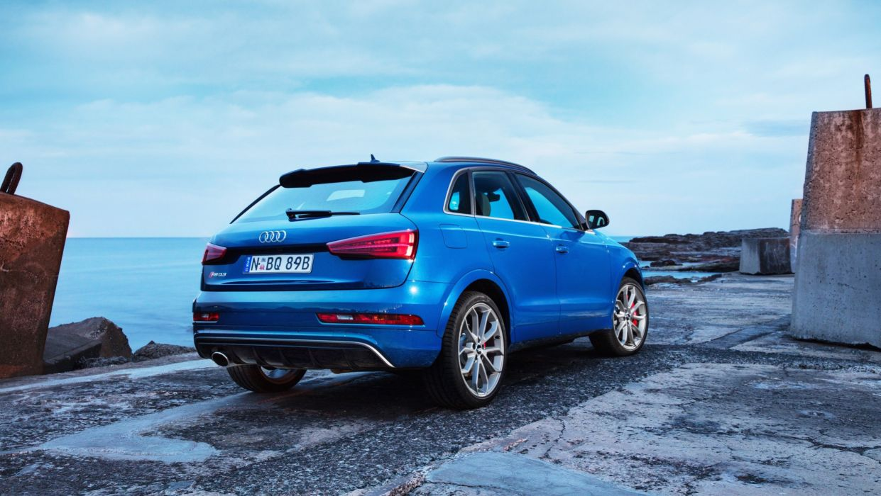 Audi RS-Q3 performance AU-spec cars suv blue (8U) 2016 wallpaper