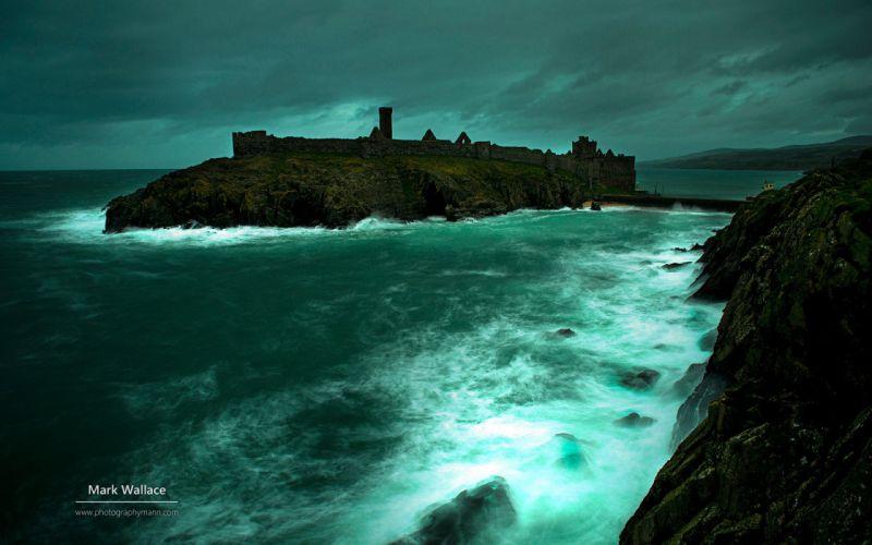 Featured Isle of Man natural landscape photographymann sea ocean wallpaper