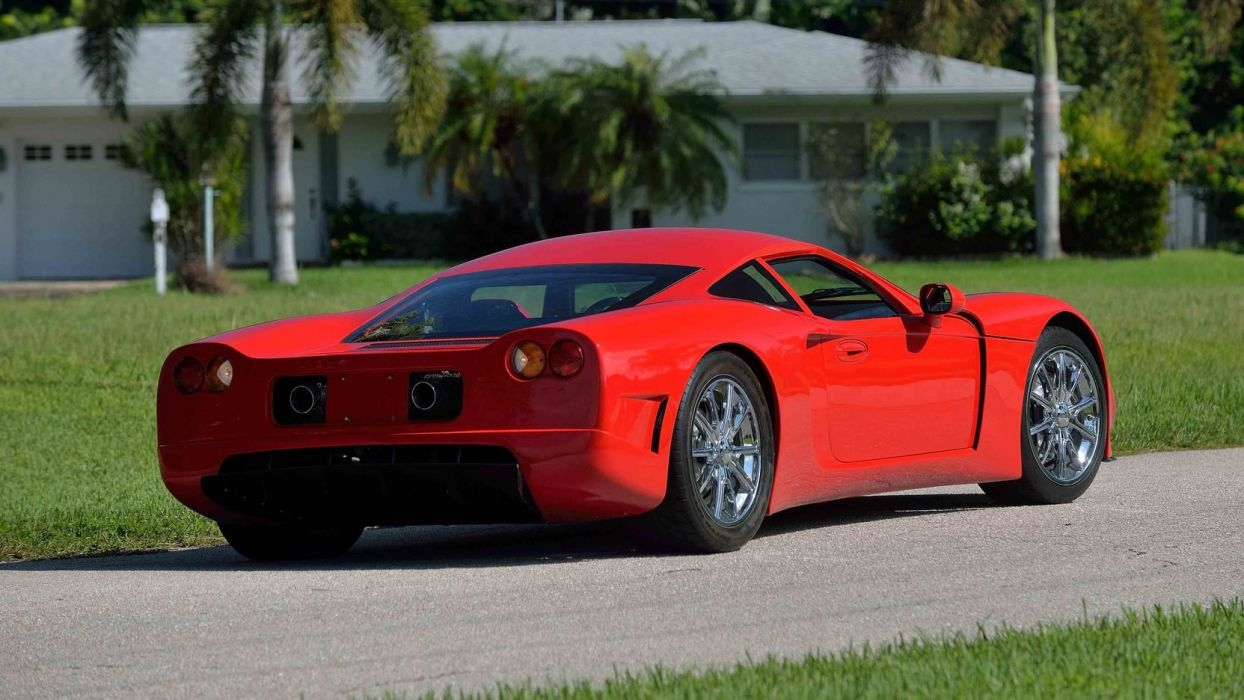 2010 Factory Five GTM cars supercars red wallpaper