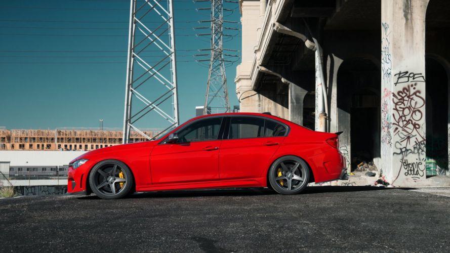 ASPEC BMW 3-Series Sedan (F30) cars modified 2014 wallpaper
