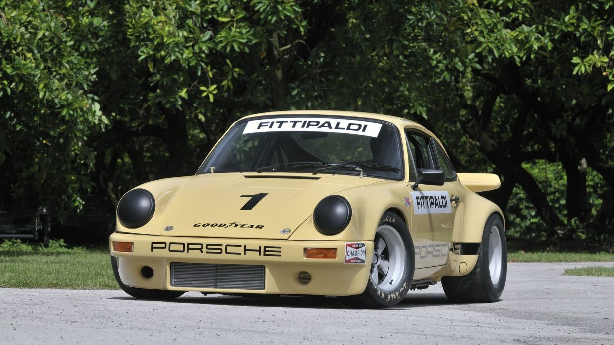 1974 PORSCHE 911 RSR IROC cars racecars wallpaper