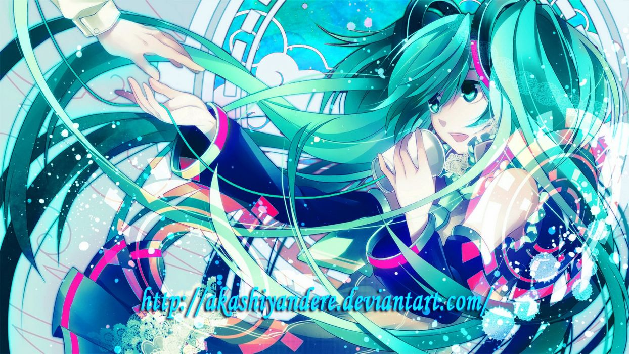 hatsune miku music hd 1080p wallpaper wallpaper