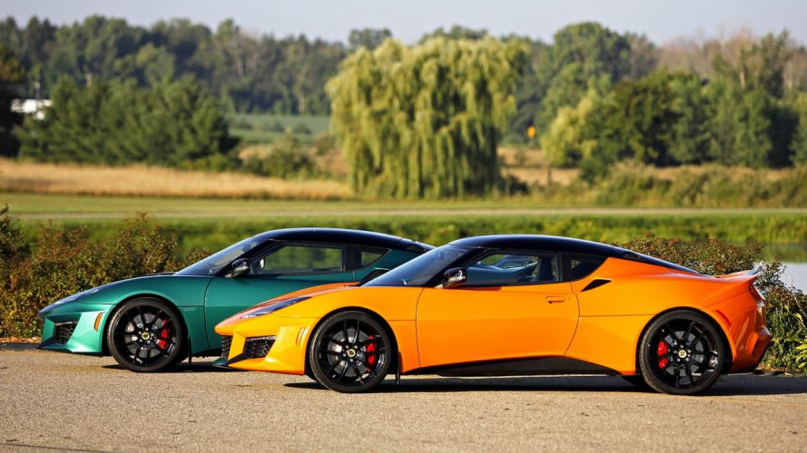 2016 Lotus Evora 400 cars coupe orange wallpaper