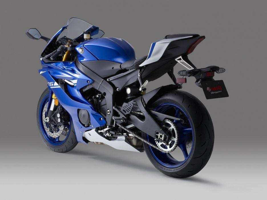 Yamaha-R6 YZF-600 motorcycles 2017 wallpaper
