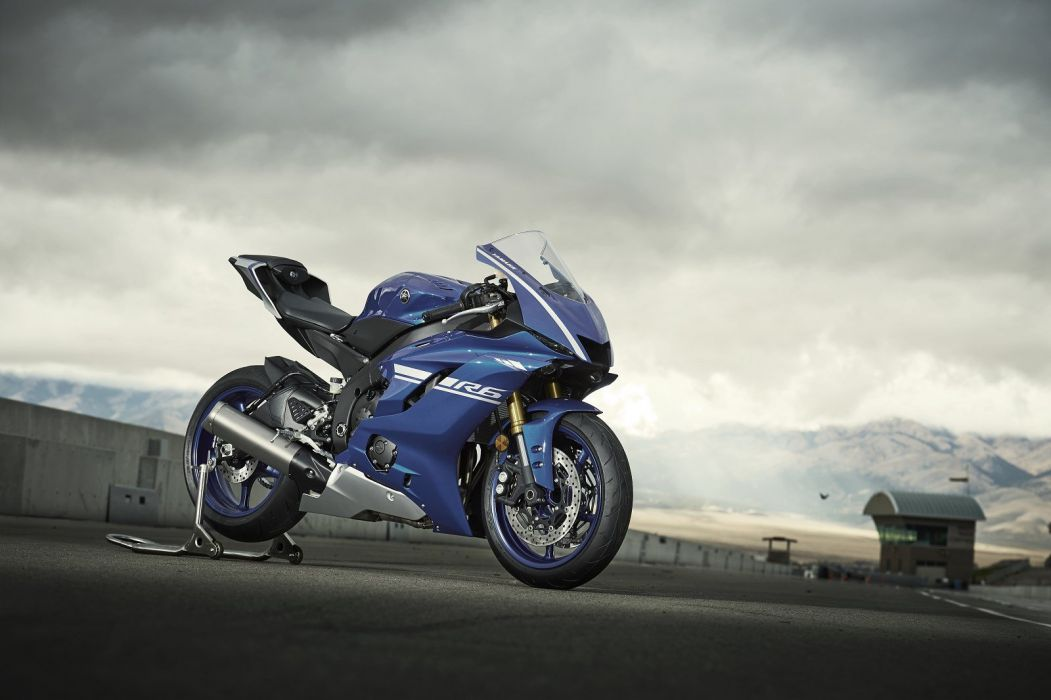 Yamaha-R6 YZF-600 motorcycles 2017 wallpaper