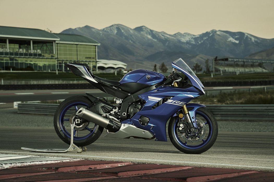 Yamaha R6 YZF 600 Motorcycles 2017 Wallpaper