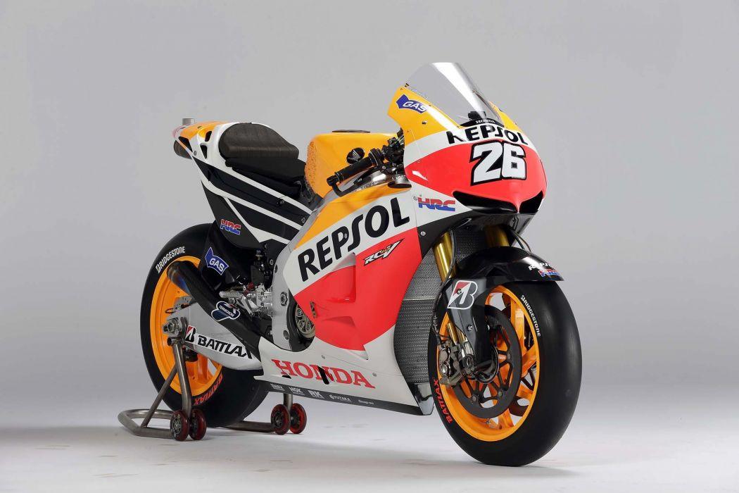 2013 Repsol Honda RC213V MotoGP Racebike wallpaper