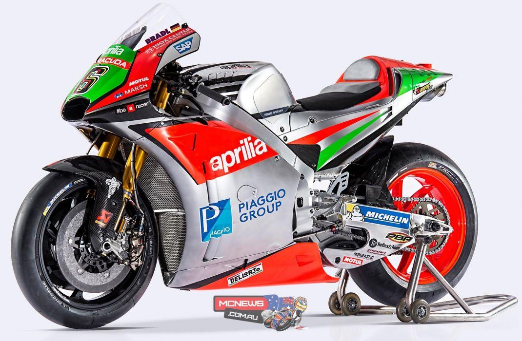 2016 Aprilia RS-GP MotoGP motorcycles wallpaper