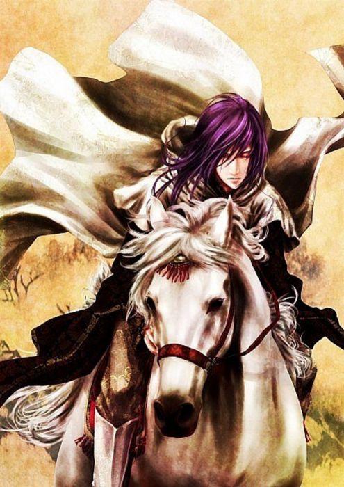anime series warrior horse guy wallpaper