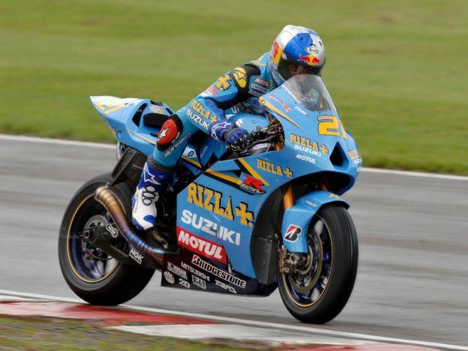 2011 Rizla Suzuki GSV-R MotoGP Race Bike wallpaper