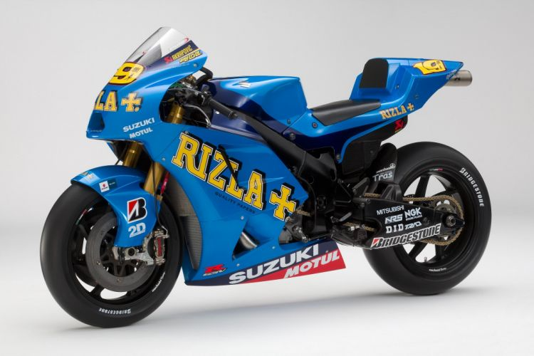 2010 Rizla Suzuki GSV-R MotoGP Race Bike wallpaper