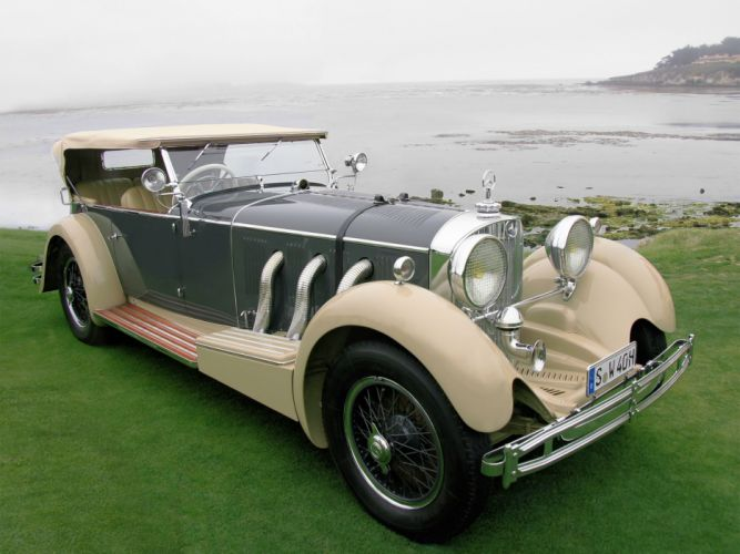 Mercedes-Benz 710SS Four Seater Cabriolet 1930 wallpaper