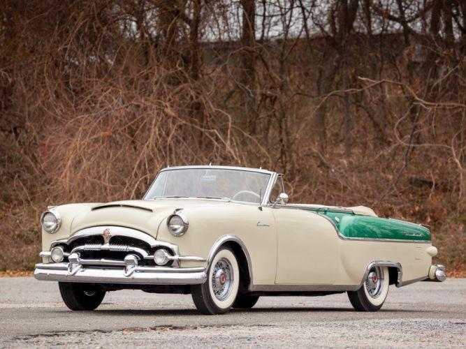 Packard Caribbean Custom Convertible Coupe 1954 wallpaper