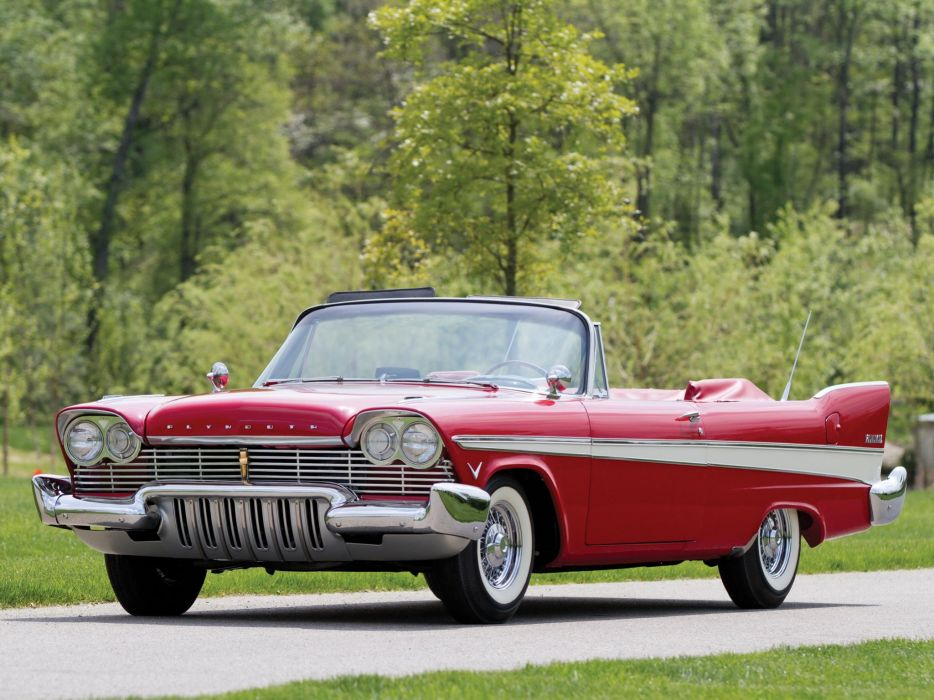 Plymouth Belvedere Convertible 1957 wallpaper