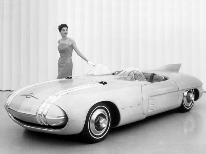 Pontiac Club de Mer Concept Car 1956 wallpaper