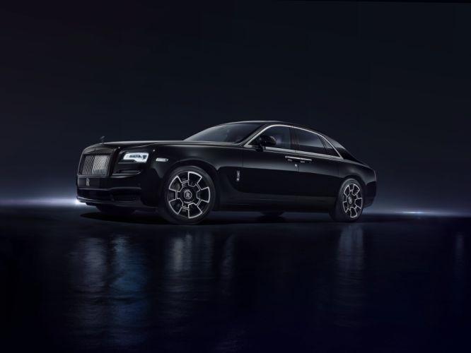 Rolls-Royce Ghost Black Badge 2016 wallpaper
