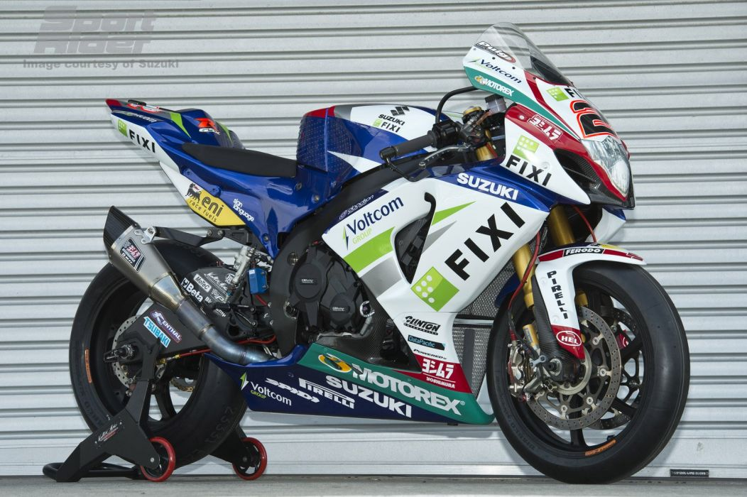 2012 Crescent Fixi Suzuki GSX-R 1000 World Superbike wallpaper