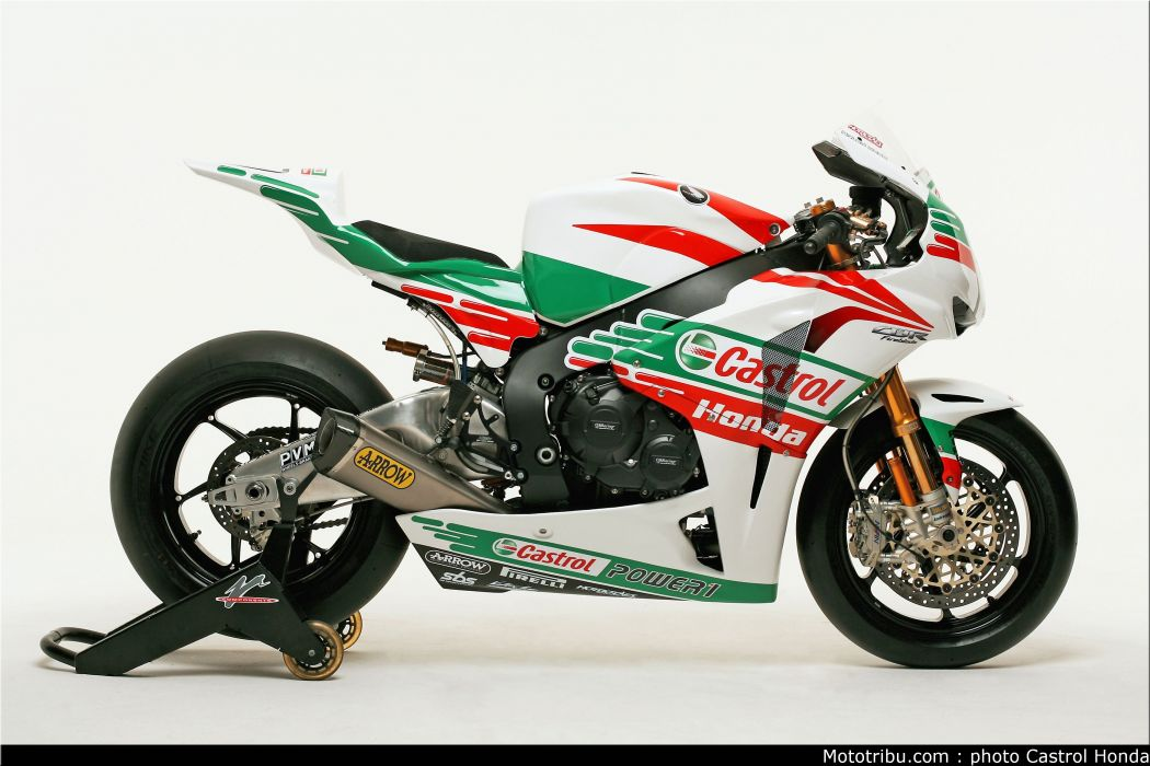 Superbike 2011 Team Castrol Honda wallpaper
