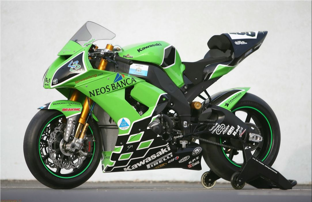 Sbk 2008 Kawasaki Zx10r Wallpaper