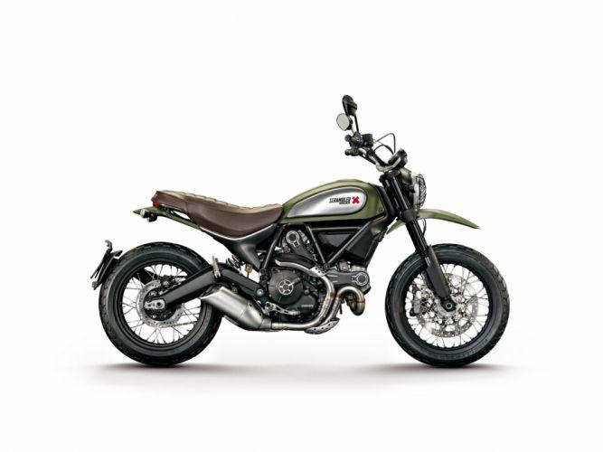 Ducati Scrambler urban enduro motorcycles 2015 wallpaper