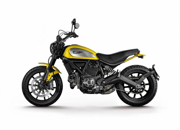 Ducati Scrambler Icon motorcycles 2015 wallpaper