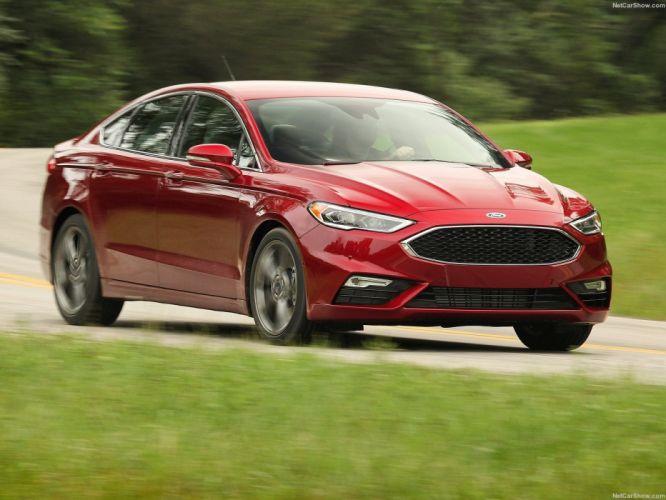 2016 cars ford (v6) fusion sport wallpaper
