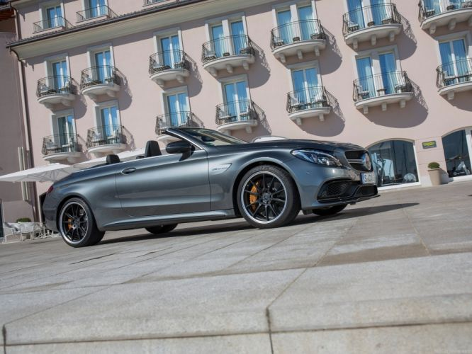 2016 amg benz c63 cabriolet cars mercedes silver wallpaper
