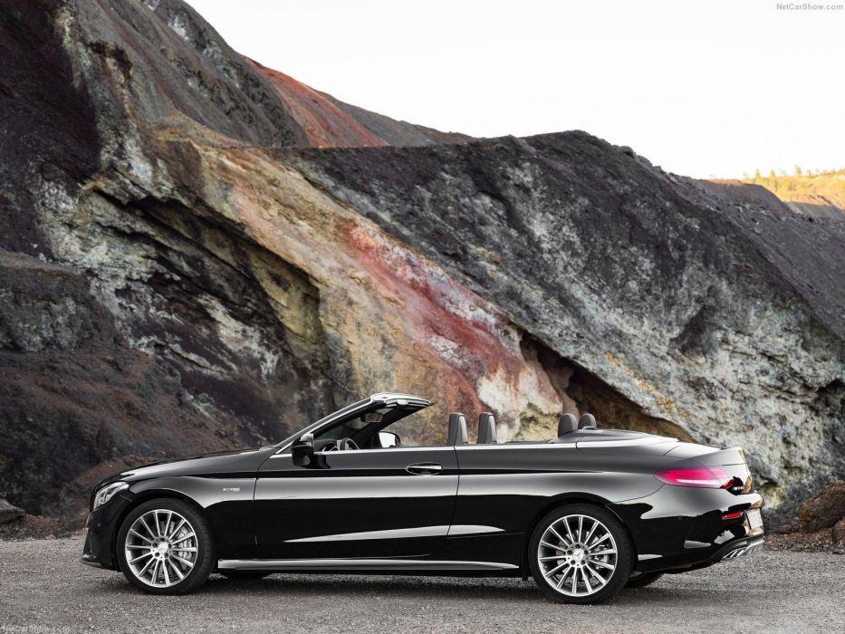 (a205) 2016 amg c43 cabriolet cars mercedes 4Matic wallpaper