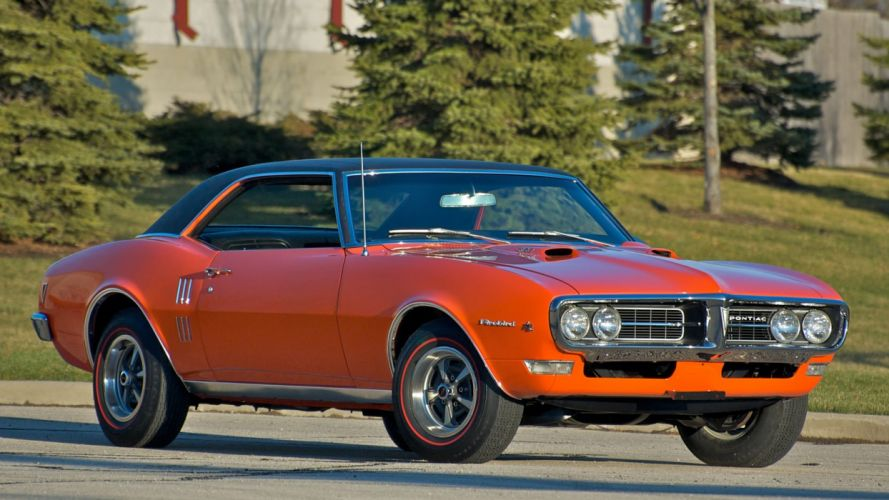 1968 PONTIAC FIREBIRD RAM AIR-I cars coupe wallpaper