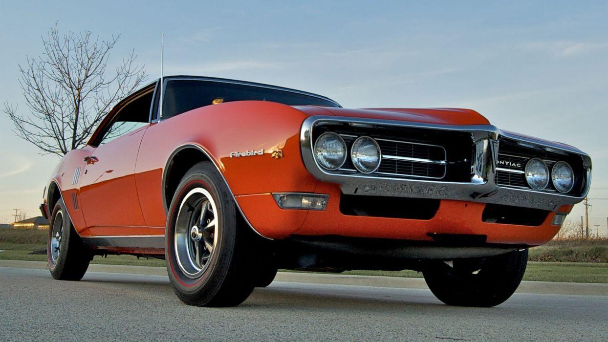 1968 PONTIAC FIREBIRD RAM AIR-I cars coupe wallpaper
