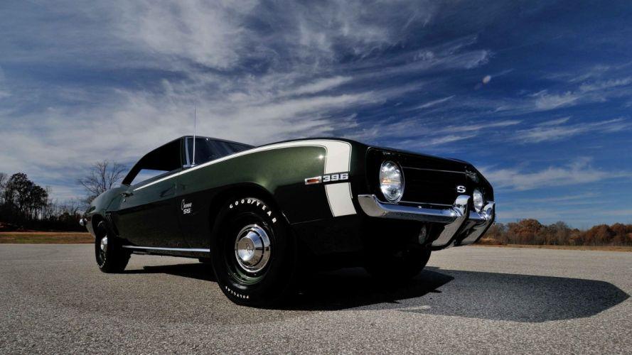 1969 CHEVROLET CAMARO-SS cars L78 396 wallpaper