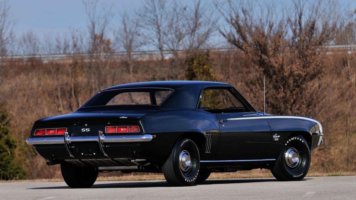 1969 Chevrolet Camaro Ss Cars L78 396 Wallpaper 1664x936