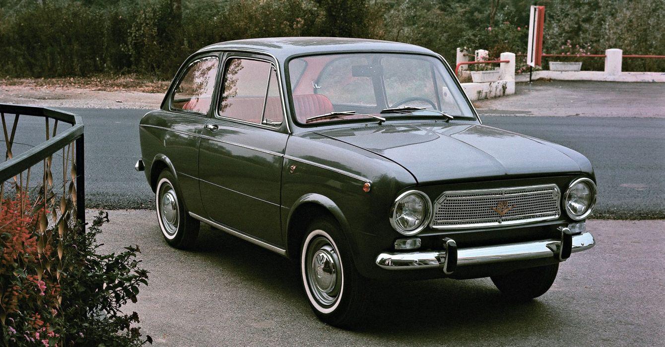 Fiat 850 Elaborata Scioneri 1964 wallpaper