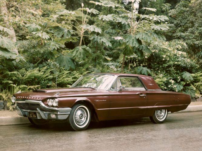 Ford Thunderbird Hardtop Coupe 1964 wallpaper