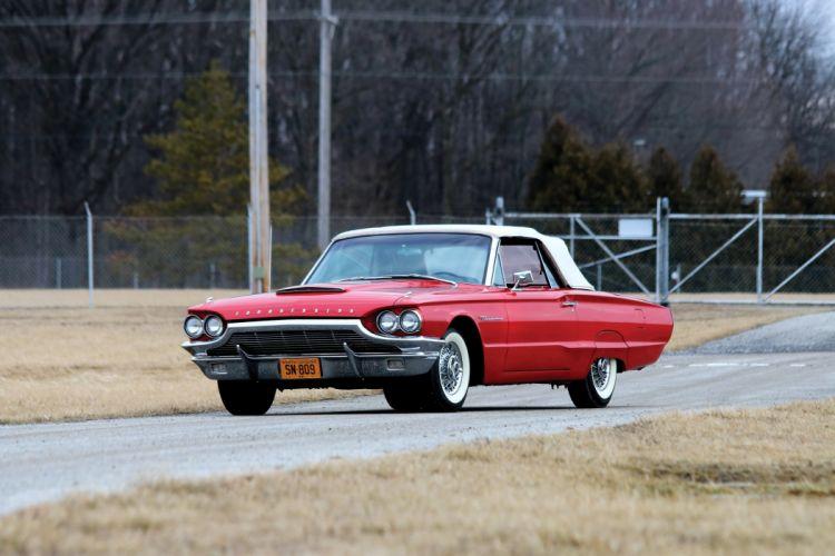 Ford Thunderbird Convertible 1964 wallpaper