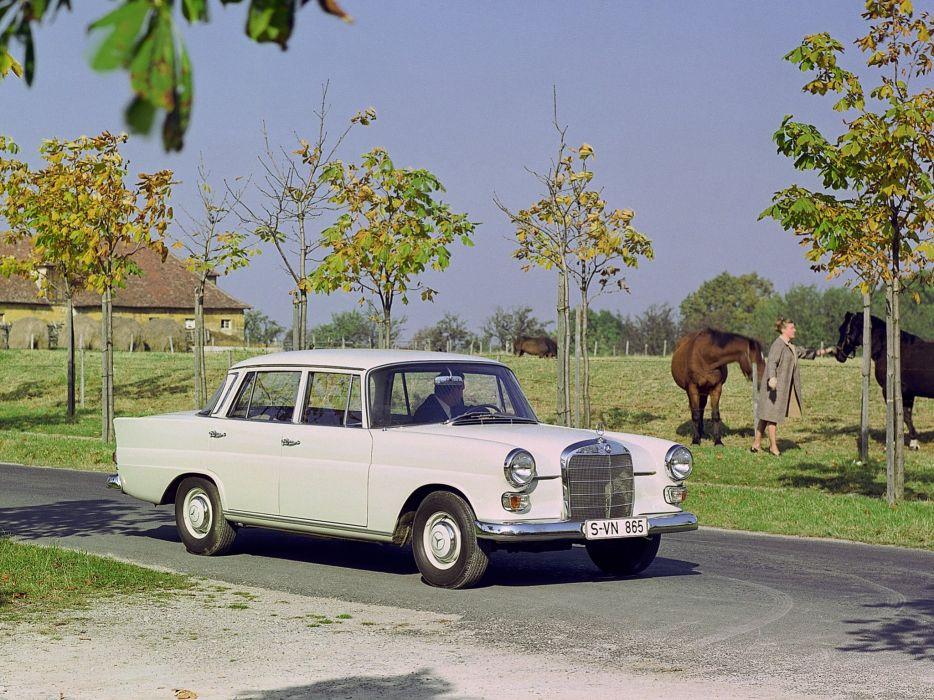 Mercedes-Benz 200D 1965 wallpaper