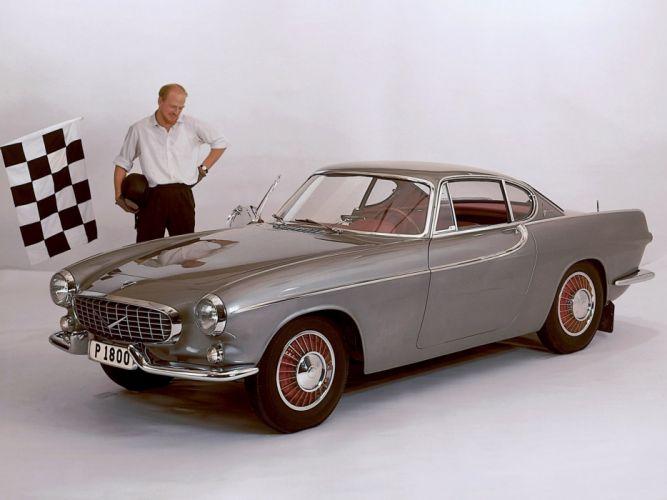 Volvo P1800 Prototype 1960 wallpaper