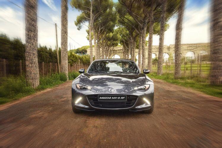 Mazda MX-5-RF cars 2016 wallpaper