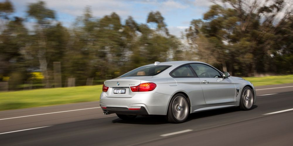 BMW 430i Coupe M-Sport Package AU-spec (F32) cars 2016 wallpaper