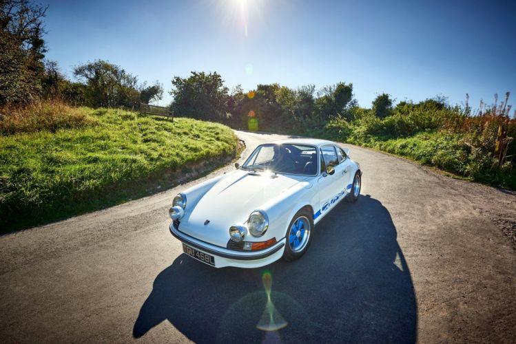 Porsche 911 Carrera RS-2 7 Touring UK-spec cars white 1972 wallpaper