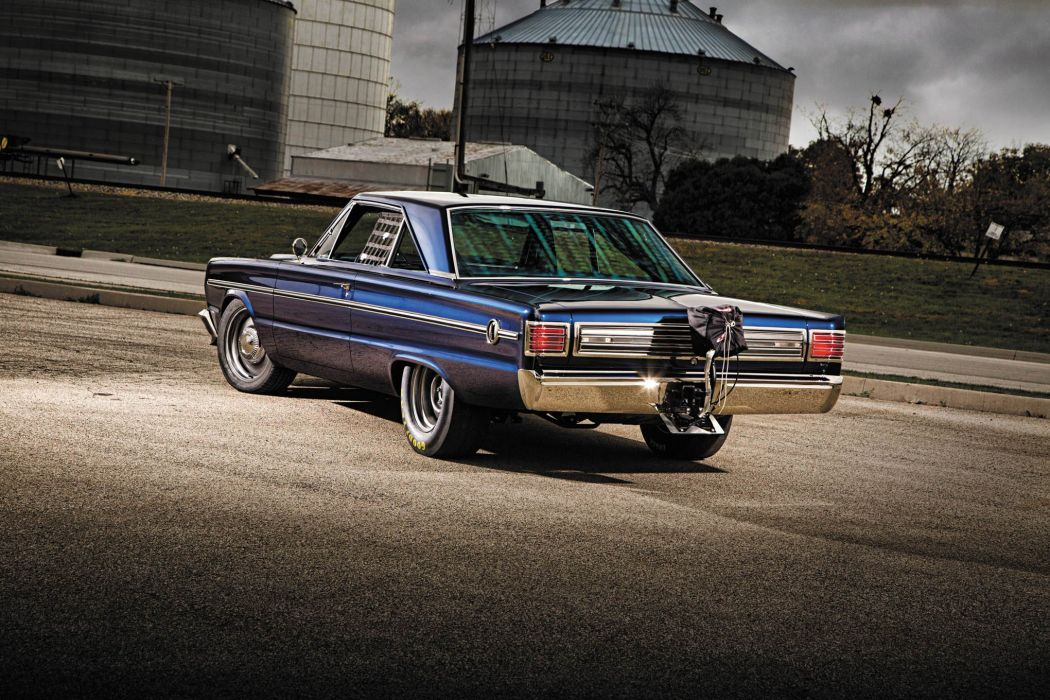 1966 Plymouth Belvedere cars blue modified wallpaper