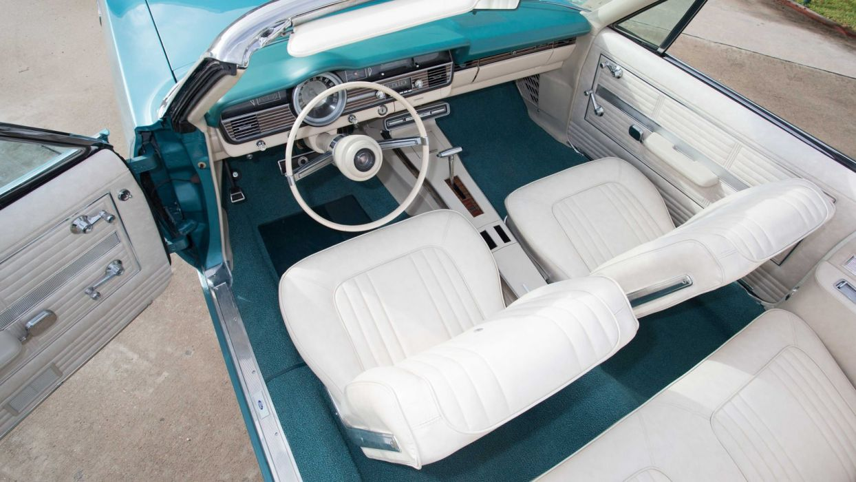 1967 MERCURY MONTEREY S-55 CONVERTIBLE cars classic blue wallpaper