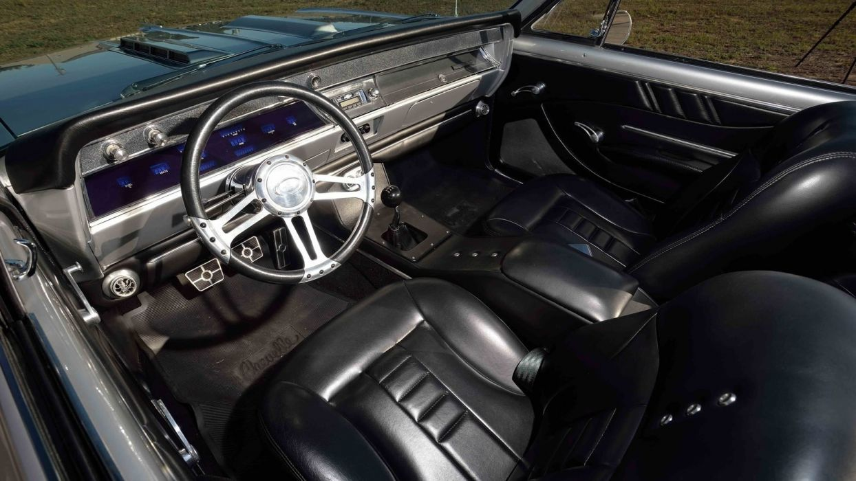 1966 CHEVROLET MALIBU CONVERTIBLE cars silver wallpaper